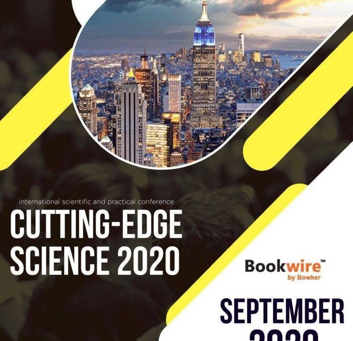 Cutting-Edge Science, September, 2020