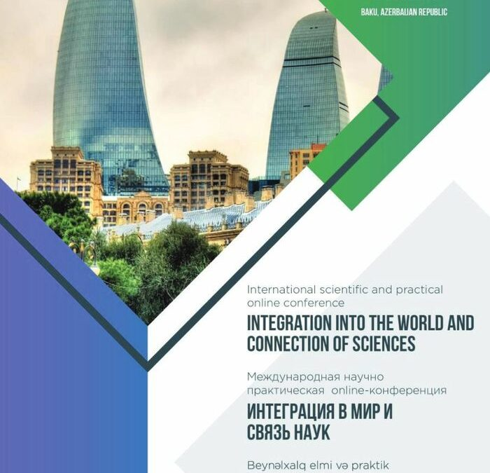 Integration into the world and connection of sciences, November, 2020