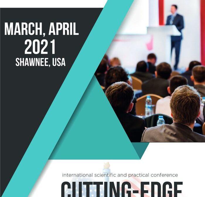 Cutting-Edge Science, Shawnee, USA, March, April 2021